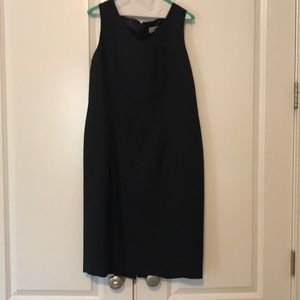 Navy sheath dress